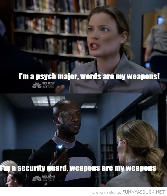 Words Are My Weapons