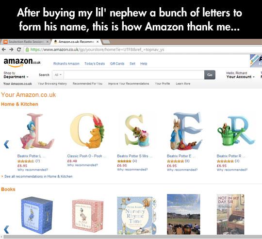 Thanks Amazon