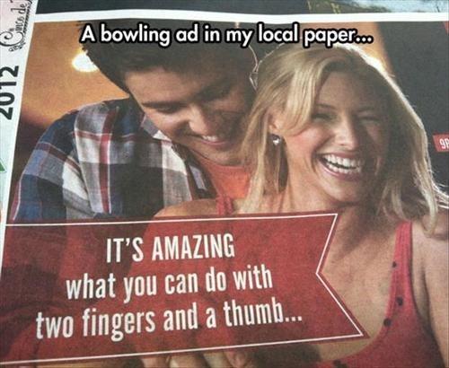 A Bowling Ad