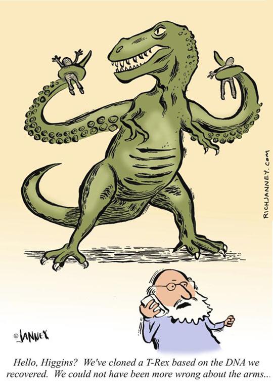 Cloned T-Rex