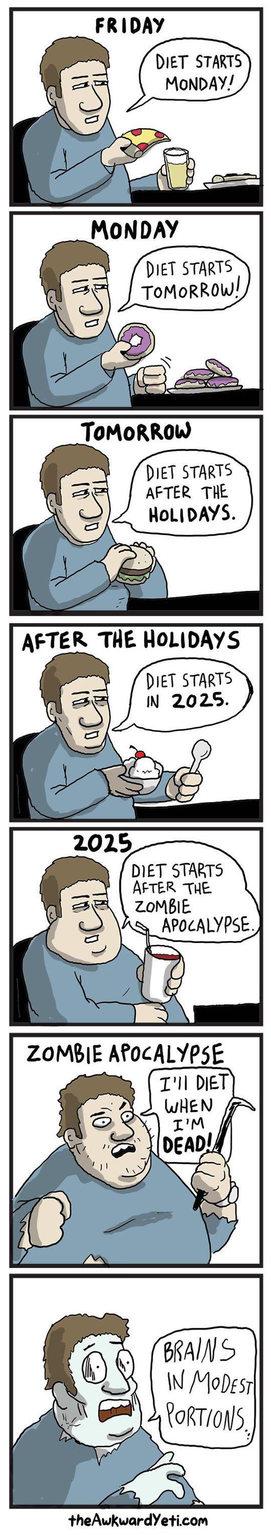Diet Starts Monday