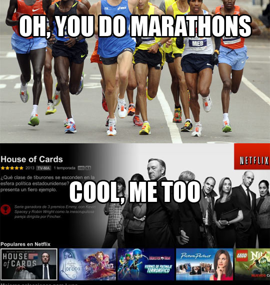 You Do Marathons?
