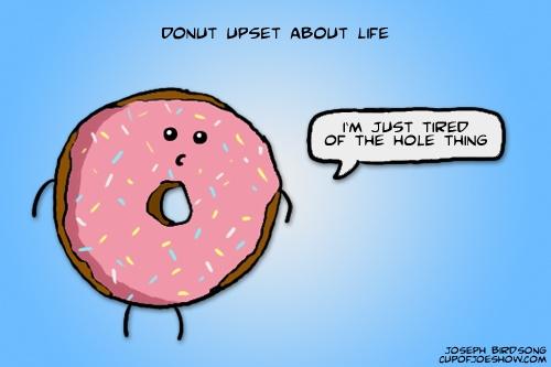Upset Donut