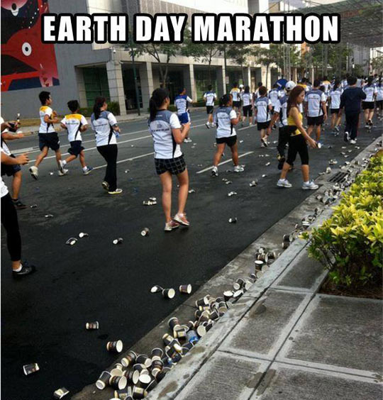 Earth Day Marathon