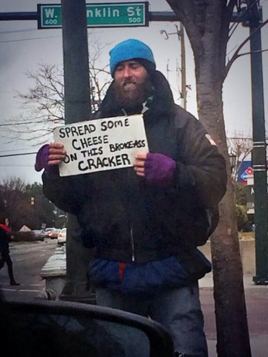 Homeless Cracker