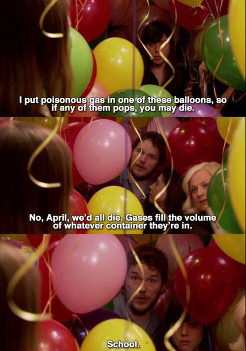 Poisoned Balloons