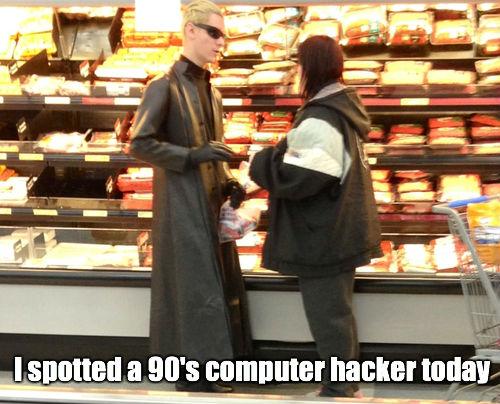 90's Computer Hacker