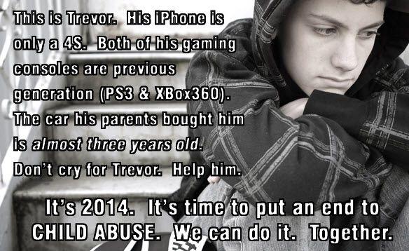Poor Trevor