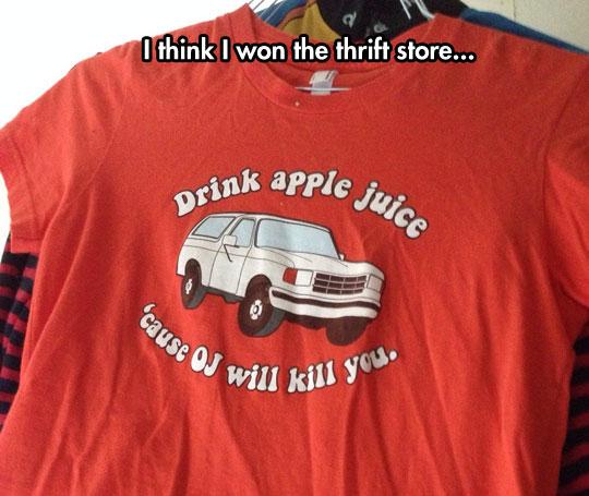 Thrift Shop Win