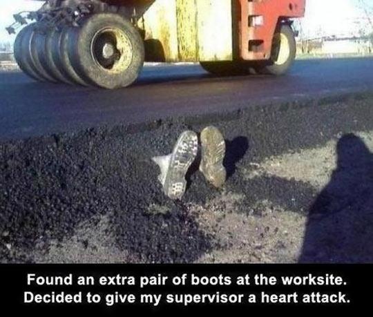 Boots Prank