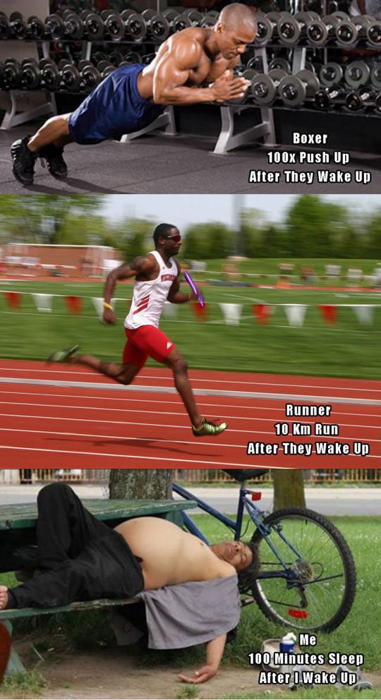 Athletes Vs Everyone Else