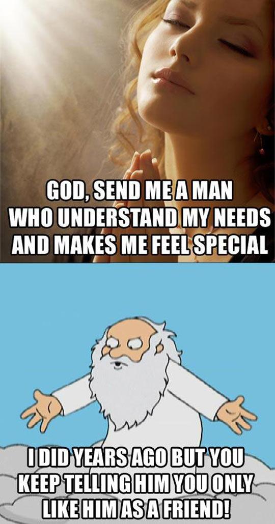 Send Me A Man