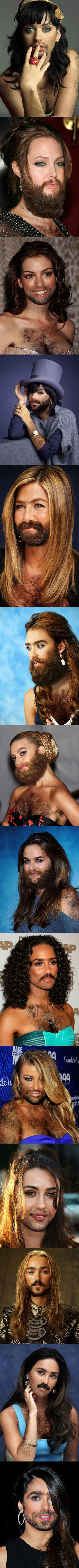Famous Woman With Beards