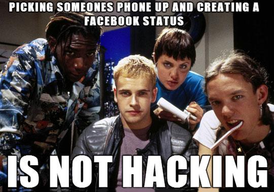 Not Hacking