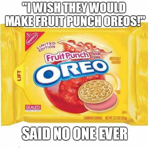 Fruit Punch Oreos
