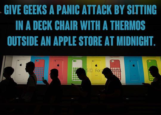 Geek Panic Attack