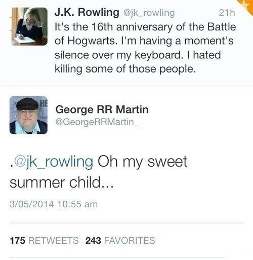 J.K & George
