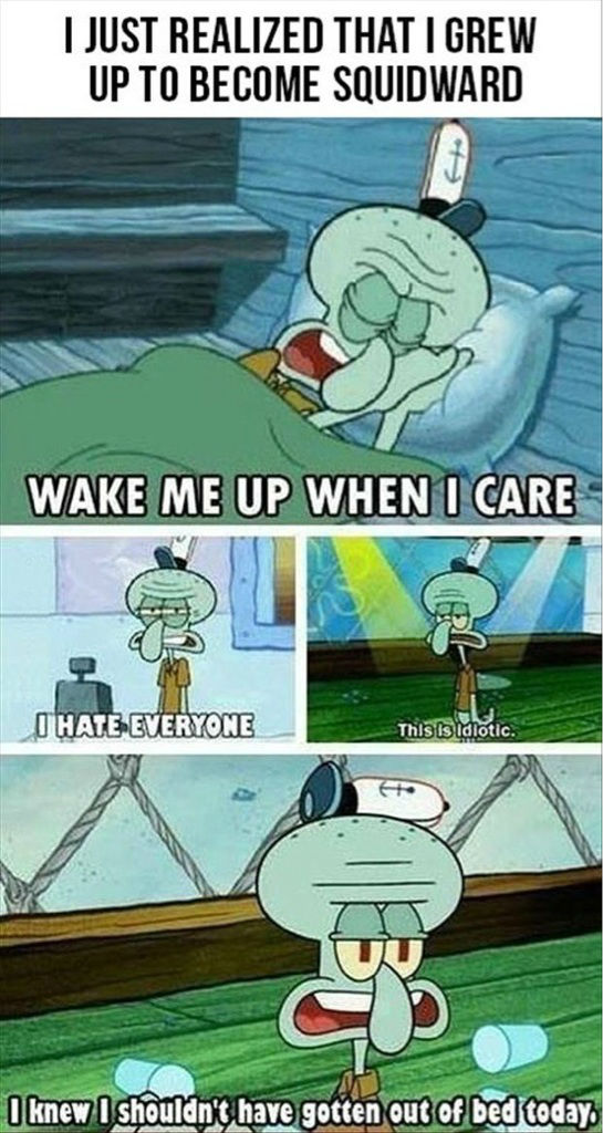 Become Squidward