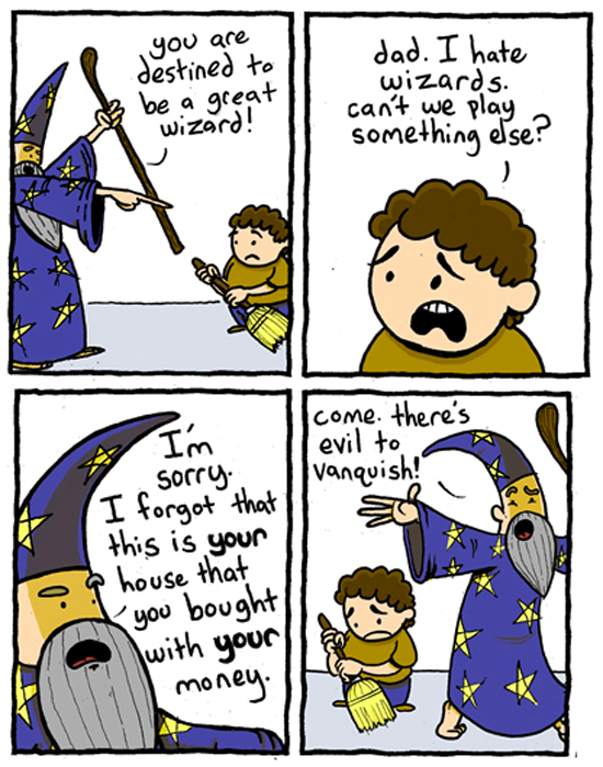 I Hate Wizards