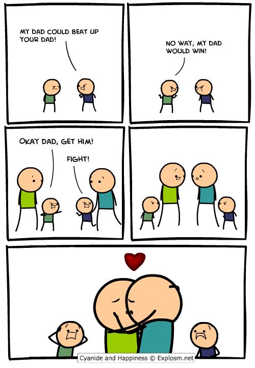 Get Him, Dad!