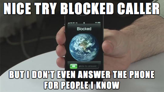 Blocked Caller