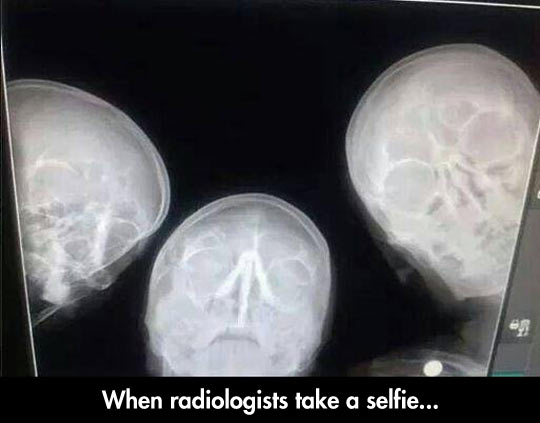 Radiologisit Selfie
