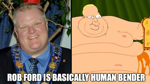 Rob Is Human Bender