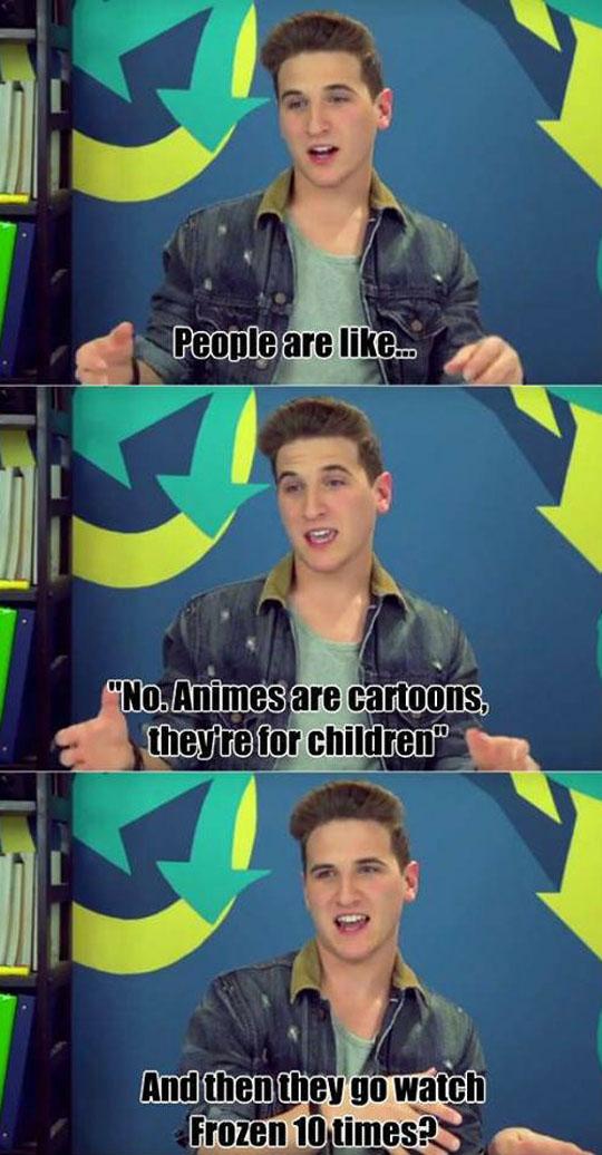 Animes Are Cartoons