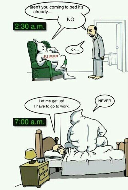 Scumbag Sleep