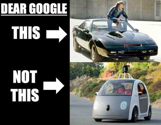 Dear Google...