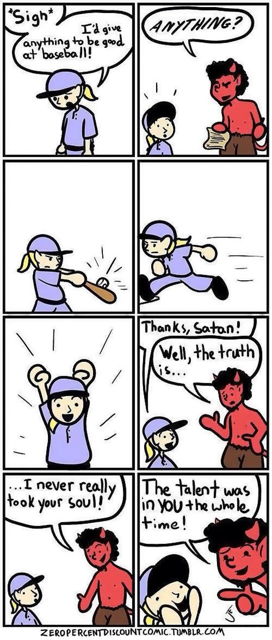 Satan Ain't So Bad