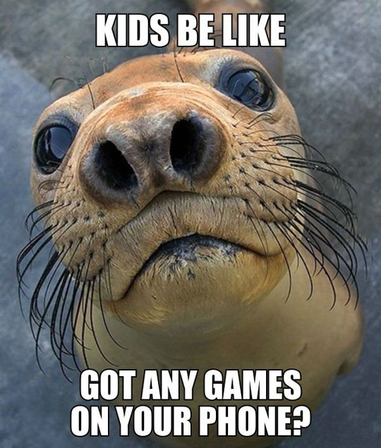 Kids Be Like...