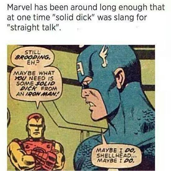 Marvel Slang