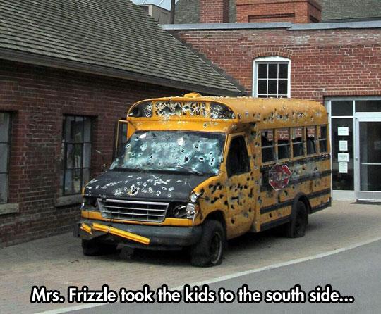 Dammit Mrs Frizzle