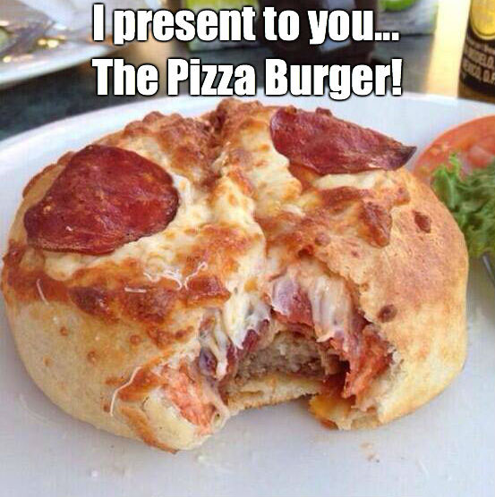 The Pizza Burger