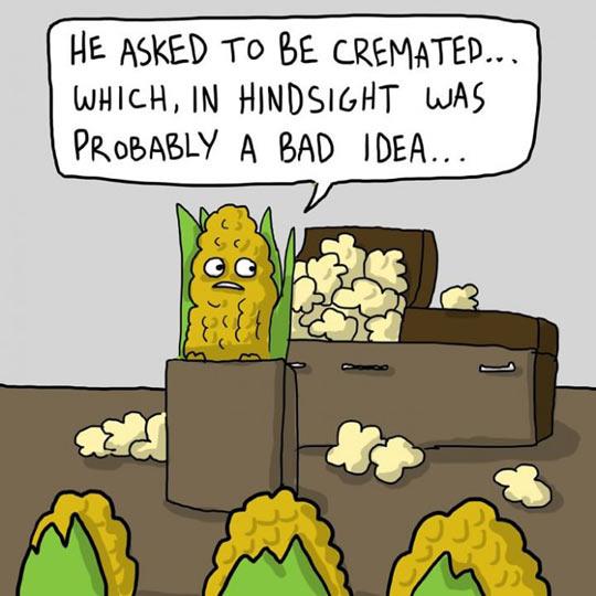 Cremated Corn