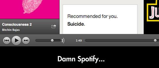 Damn Spotify