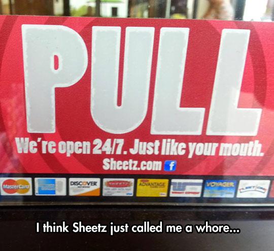 Excuse Me Sheetz?