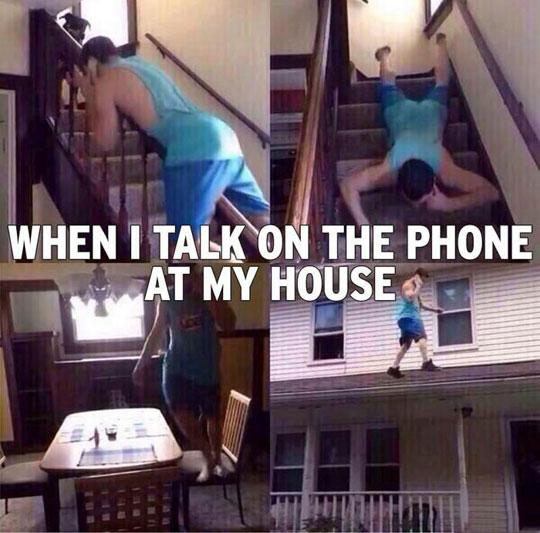Talk On The Phone