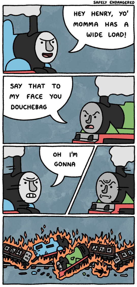 The Tank Engines Just Got Real