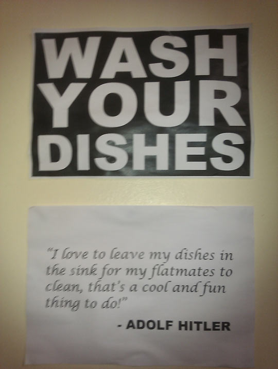 Wash Your Dishes