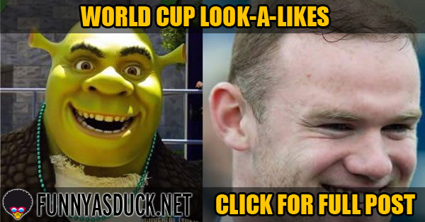 World Cup Look-A-Likes