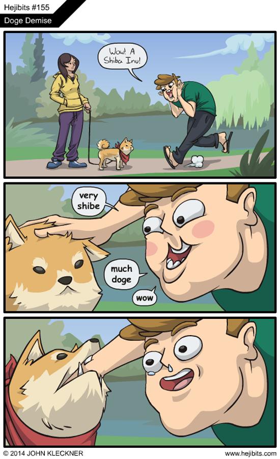 Doge Bite