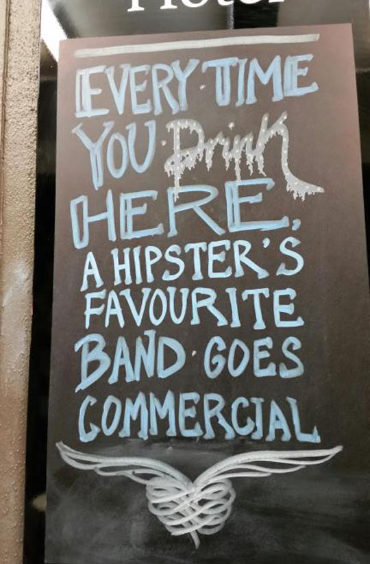 Hipster's Favorite Band