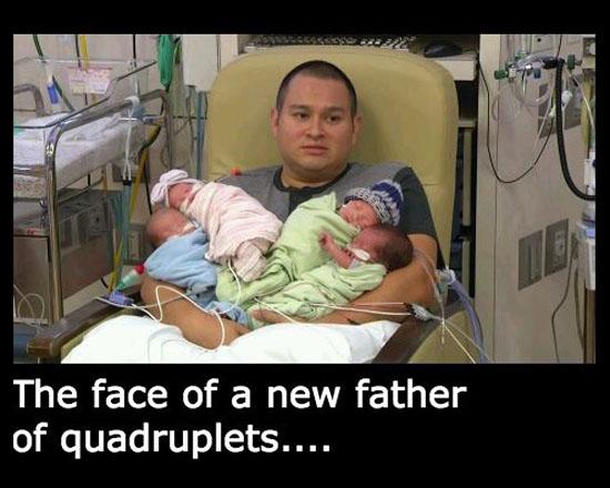 New Father Of Quadruplets