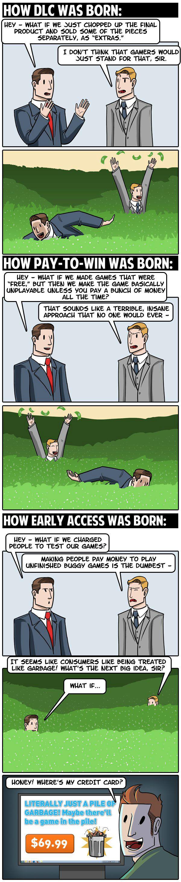 How DLC Was Born
