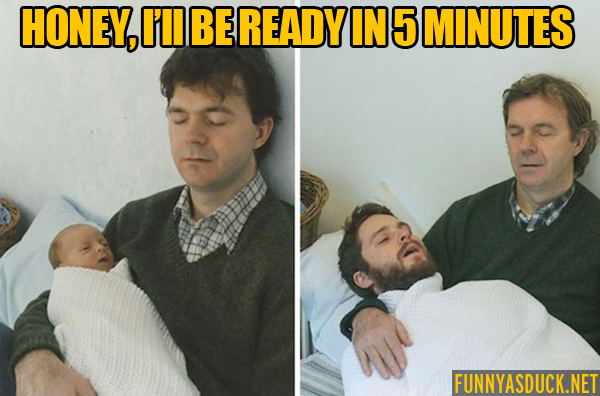 I'll Be Ready In 5 Minutes