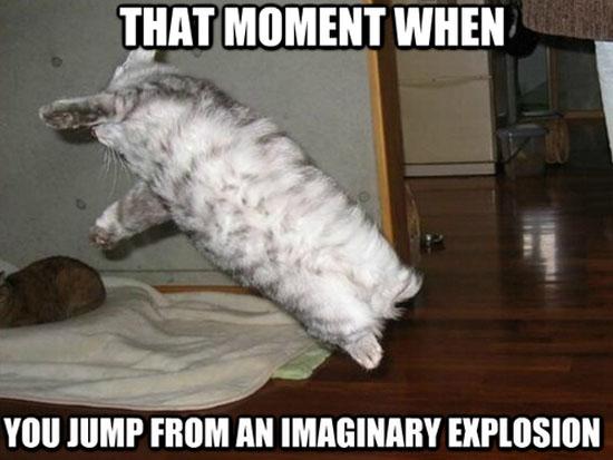 Invisible Explosion