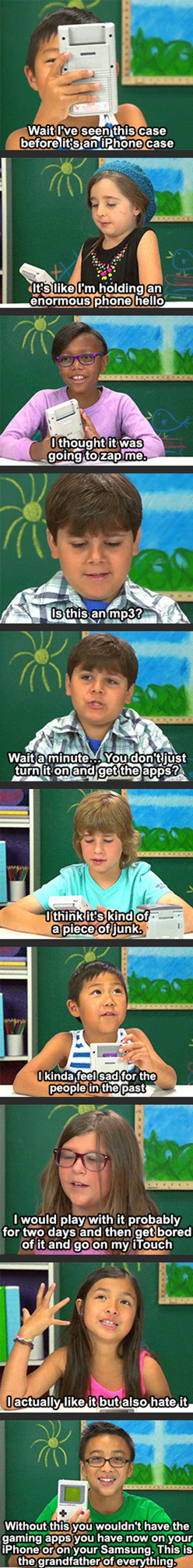 Kids React To A Gameboy