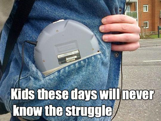 CD Walkman Struggle